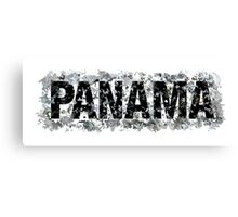 Panama Dark Canvas Print