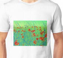 The Poppy Field Unisex T-Shirt