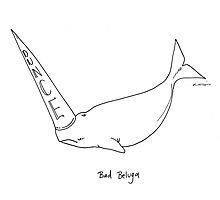 Bad Beluga Photographic Print