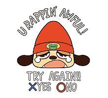 U Rappin' Awful! Photographic Print