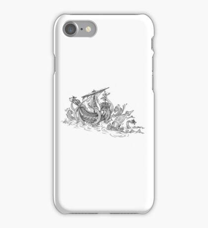 Squid ship iPhone Case/Skin