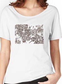 inky_sky_maze_t1 Women's Relaxed Fit T-Shirt