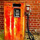 Petrol Pump by Elaine Stevenson