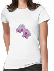 orchid tee Womens Fitted T-Shirt