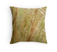 Whispering Grass Throw Pillow