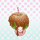 Doll faced dearies, Candice candy caramel apple by Bantambb