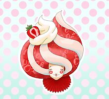 Doll faced dearies, Stella Strawberry cream parfait by Bantambb