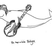 Be-Bop-A-Lula Beluga aka Bebopaluga by kellymaryanski