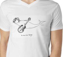 Be-Bop-A-Lula Beluga aka Bebopaluga Mens V-Neck T-Shirt