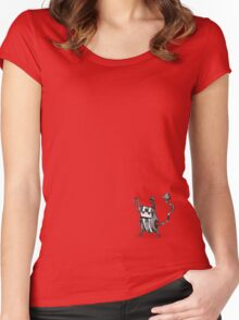 Devil Women's Fitted Scoop T-Shirt