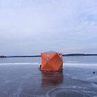 Ice Fishing Tent by Martha Medford