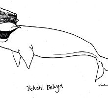Belushi Beluga by kellymaryanski