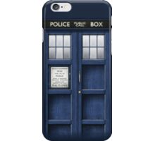 Blue Phone iPhone Case/Skin