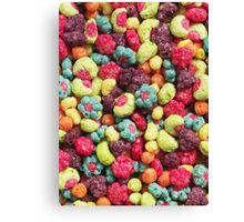 Fruit Shaped Cereal Canvas Print