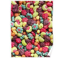 Fruit Shaped Cereal Poster