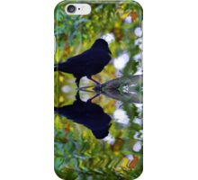 Crow Reflected iPhone Case/Skin