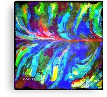 Being Centered Canvas Print