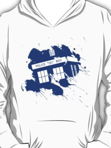 Splash tardis T-Shirt