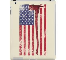 American Fire Service (white) iPad Case/Skin