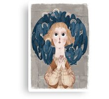 Joan of Arc - voices Canvas Print