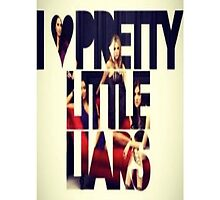 Pretty Little Liars - iPhone Case by ksully