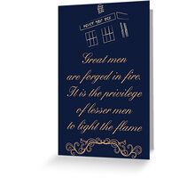 Great Men Greeting Card