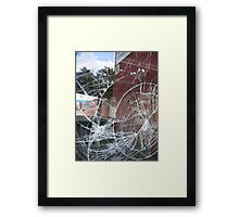 In The Suburb IV Framed Print