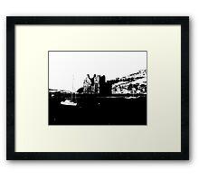 Lochranza Castle: Stark   Framed Print