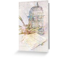 Song for Freedom Greeting Card
