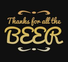 Thanks for all the BEER! by jazzydevil