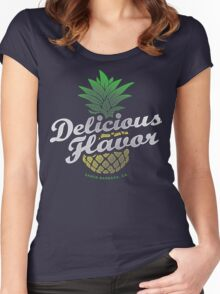 Delicious Flavor Women's Fitted Scoop T-Shirt