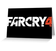 Farcry 4 Title Greeting Card