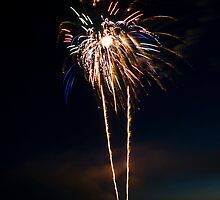 Fireworks Over the Lake by pjwuebker