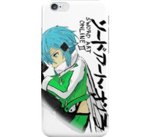 sinon iPhone Case/Skin