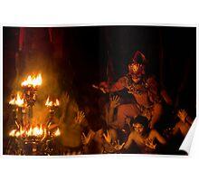 Monkey Dance - Ubud, Bali Poster