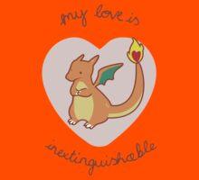 Charizard Valentine V2 Kids Clothes