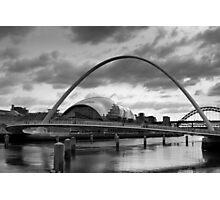 Millennium Bridge, Newcastle Photographic Print