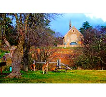 Church Service - Hill End - The HDR Series Photographic Print