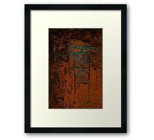 Ancient Hunter Framed Print