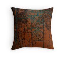 Ancient Hunter Throw Pillow