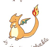 Charizard Valentine by Steph Hodges