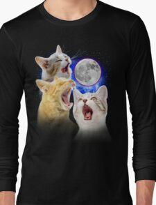Exclusive Three Cat Moon Design! Long Sleeve T-Shirt