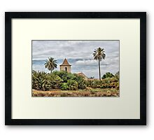 A Lonely Church Framed Print