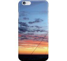 Danish sunset iPhone Case/Skin