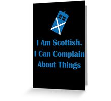 Scottish Greeting Card