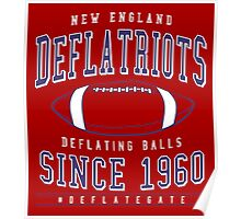 Deflate Gate - The New England Deflatriots Poster