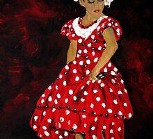 Flamenco Girl by Michelle Larrea