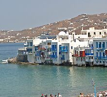 Mykonos - Little Venice Area by Memaa
