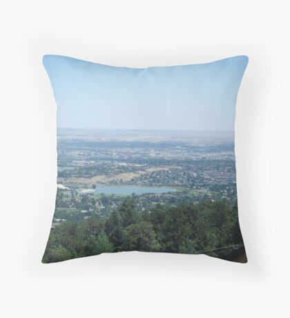 Scenic Springs Throw Pillow