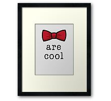 Bowties Framed Print